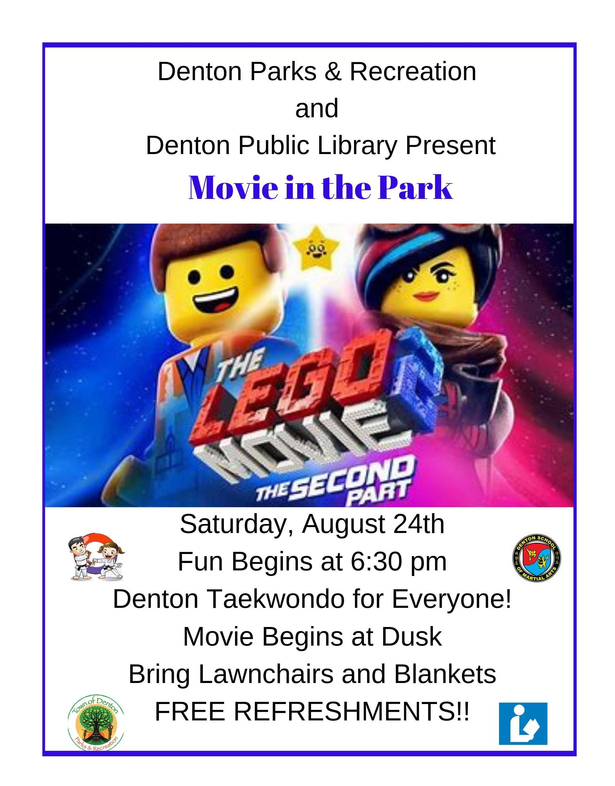Movie in Park Lego2